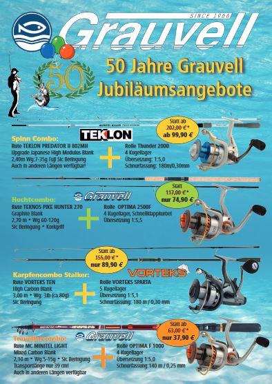 Grauvell Flyer 50 Jahre Jubiläum